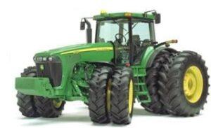 4-Wheel-drive tractor