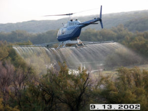Helicopter Spray