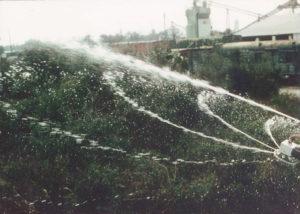 Directa-Spra and Mini-Wobbler spraying