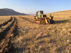 Scalper Bulldozer for Inter-Seeding